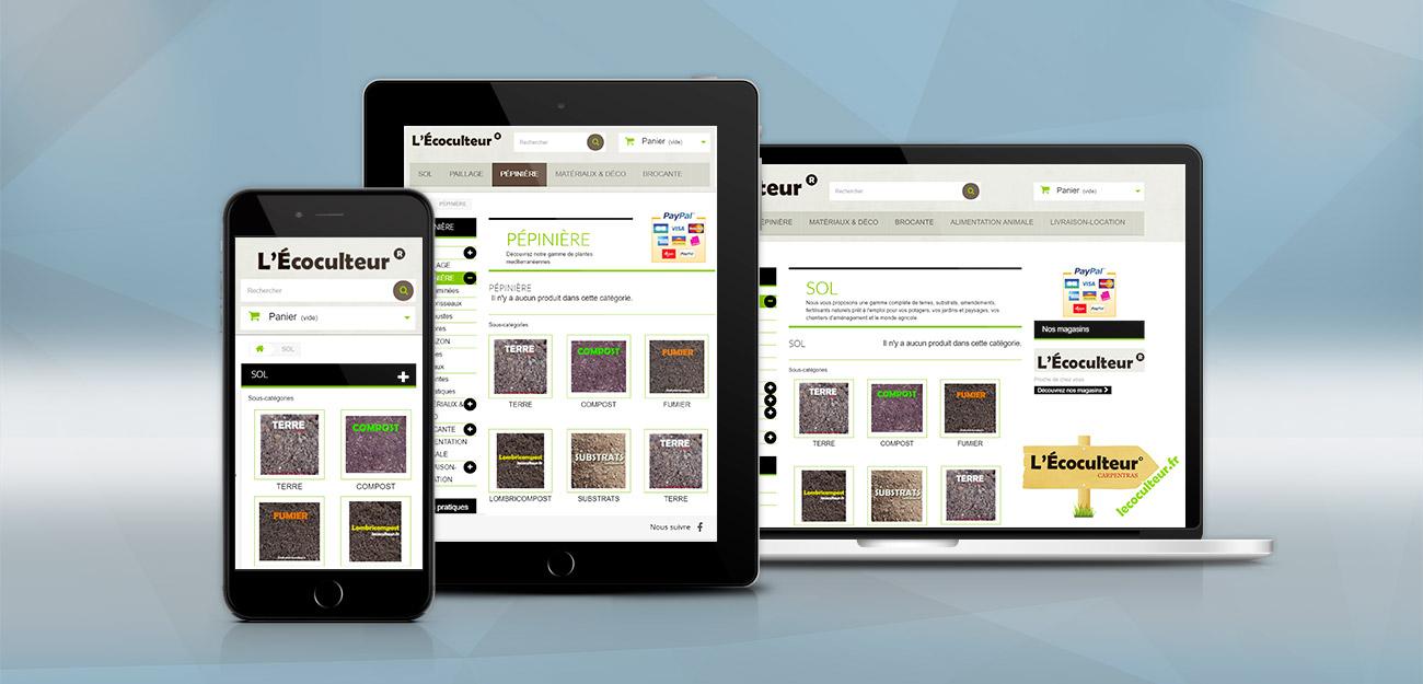 création site e-commerce boutique en ligne woo agence AK Digital Avignon
