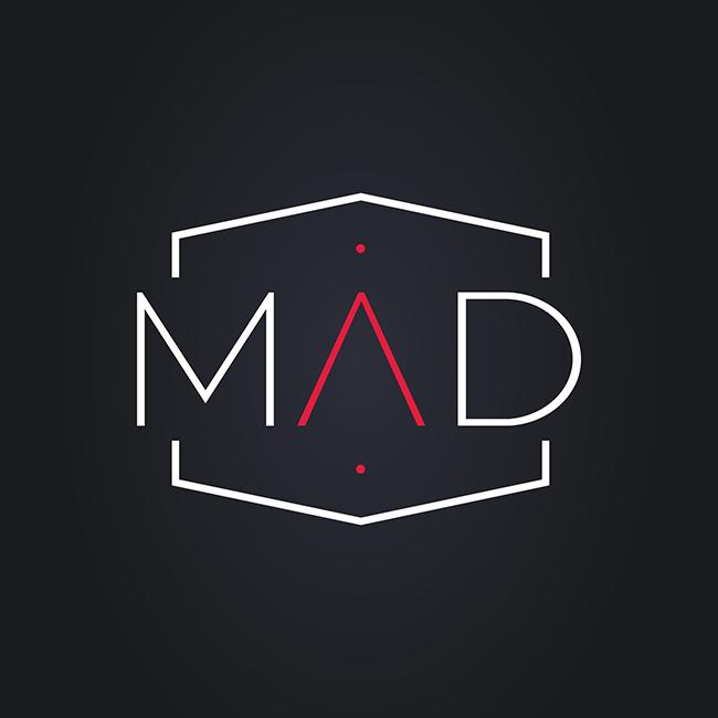 Logo Studio MAD créations print AK Digital Branding à Avignon Orange (84)