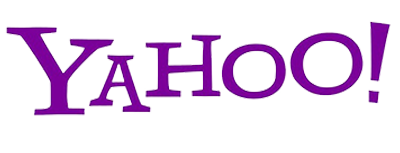 Logo Yahoo flat design 2016 2017