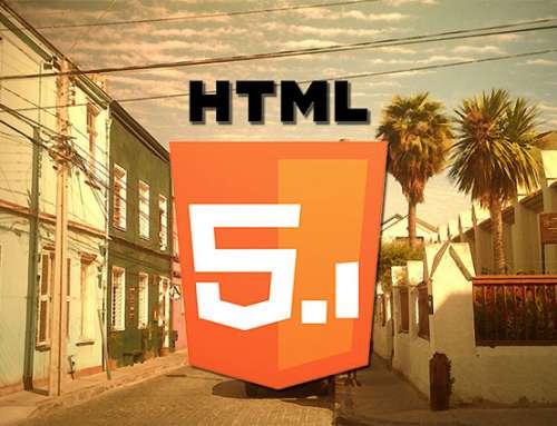 Quoi de neuf dans HTML 5.1 ? (en Français)