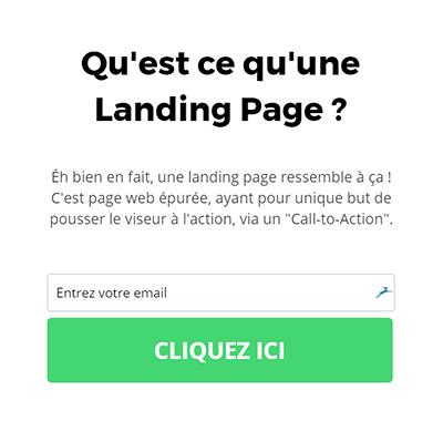 création de landing page agence AK Digital Avignon