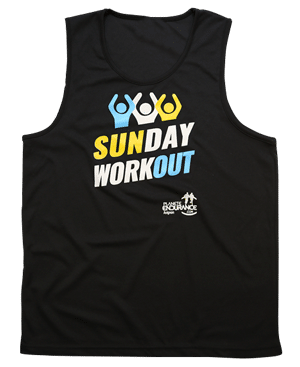 Maillot Sunday Workout noir officiel Avignon