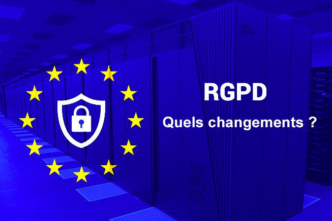 RGPD quels changement loi donnees utilisateurs 2018